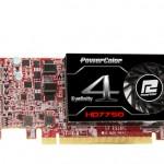PowerColor lanza su HD 7750 Eyefinity 4 LP Edition