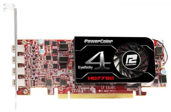 PowerColor HD 7750 Eyefinity 4 LP Edition (2)