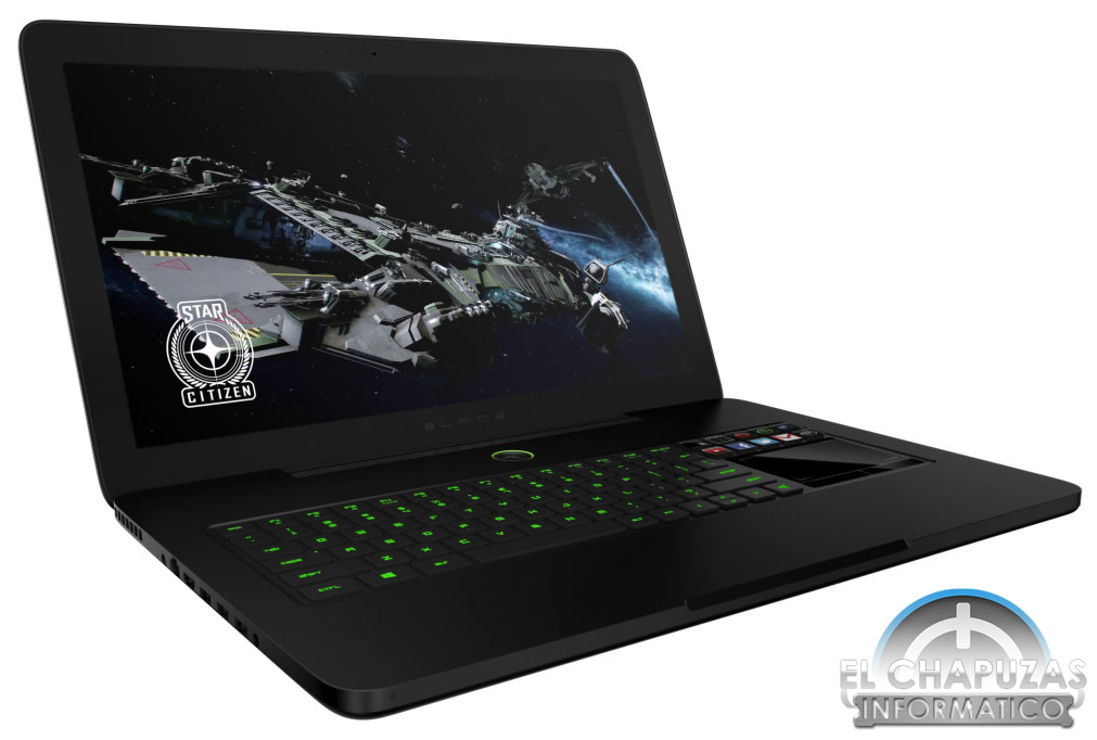 razer blade pro port til gaming de 17 pulgadas. Black Bedroom Furniture Sets. Home Design Ideas