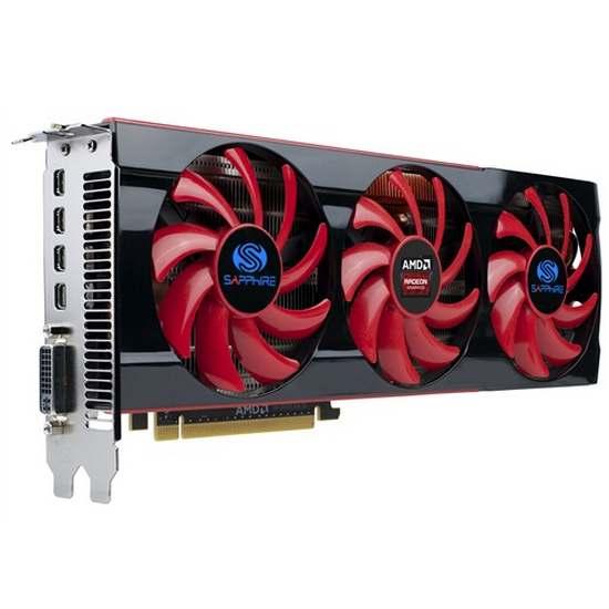 Sapphire Radeon HD 7990 Dual-X 6GB GDDR5 (1)