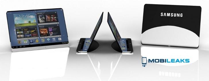 Tablet Samsung flexible