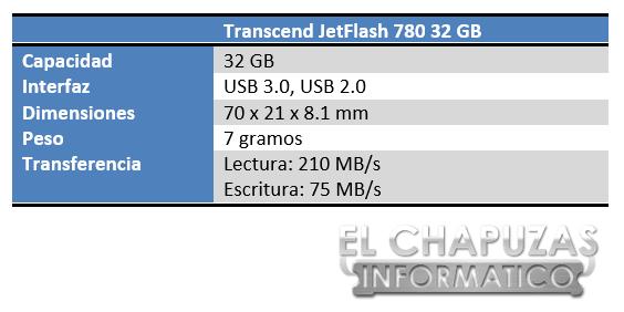 lchapuzasinformatico.com wp content uploads 2013 05 Transcend JetFlash 780 32 GB Especificaciones 2