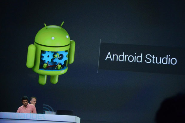 Google I/O: Android Studio