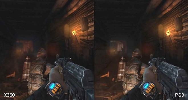 Metro Last Light comparado en Xbox 360 y PS3
