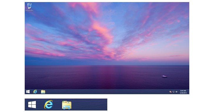 Vuelta al botón de inicio, gracias Windows 8.1