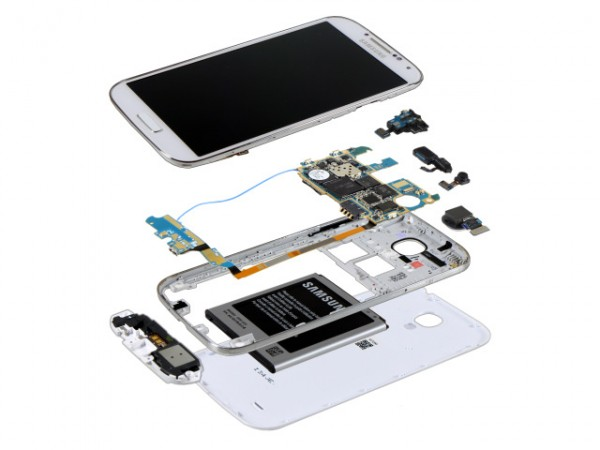 Interior Samsung Galaxy S4