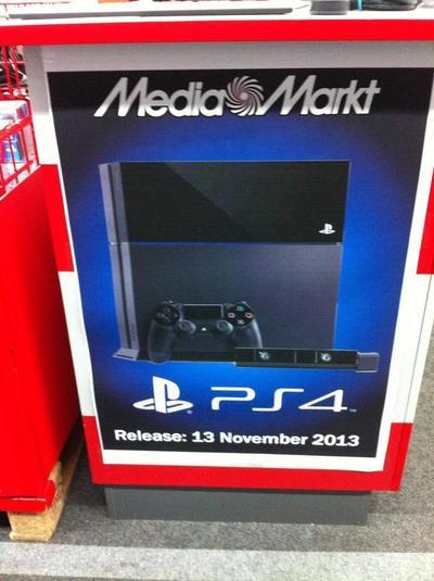 La PlayStation 4 podría llegar el 13 de Noviembre