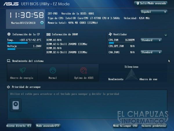 Asus Z87 Pro Bios 01 600x450 Review: Asus Z87 Pro