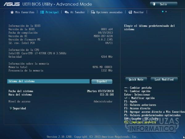 Asus Z87 Pro Bios 02 600x450 Review: Asus Z87 Pro