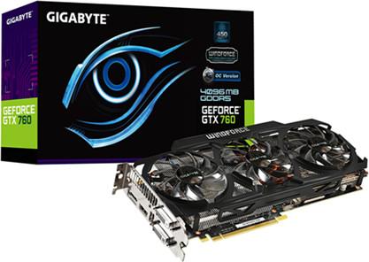 Gigabyte Gtx 760 Gddr5-4gb la Gigabyte Geforce Gtx 760
