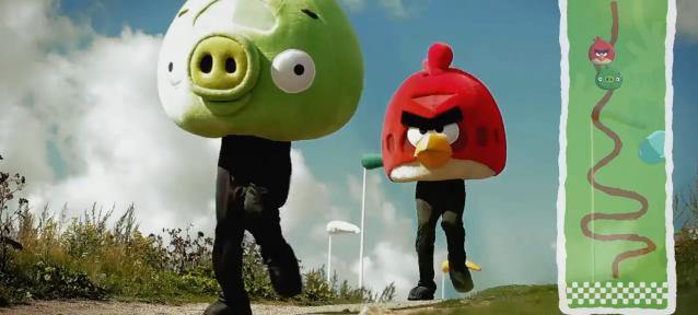 Angry Birds Go!: Carrera de karts a la vista