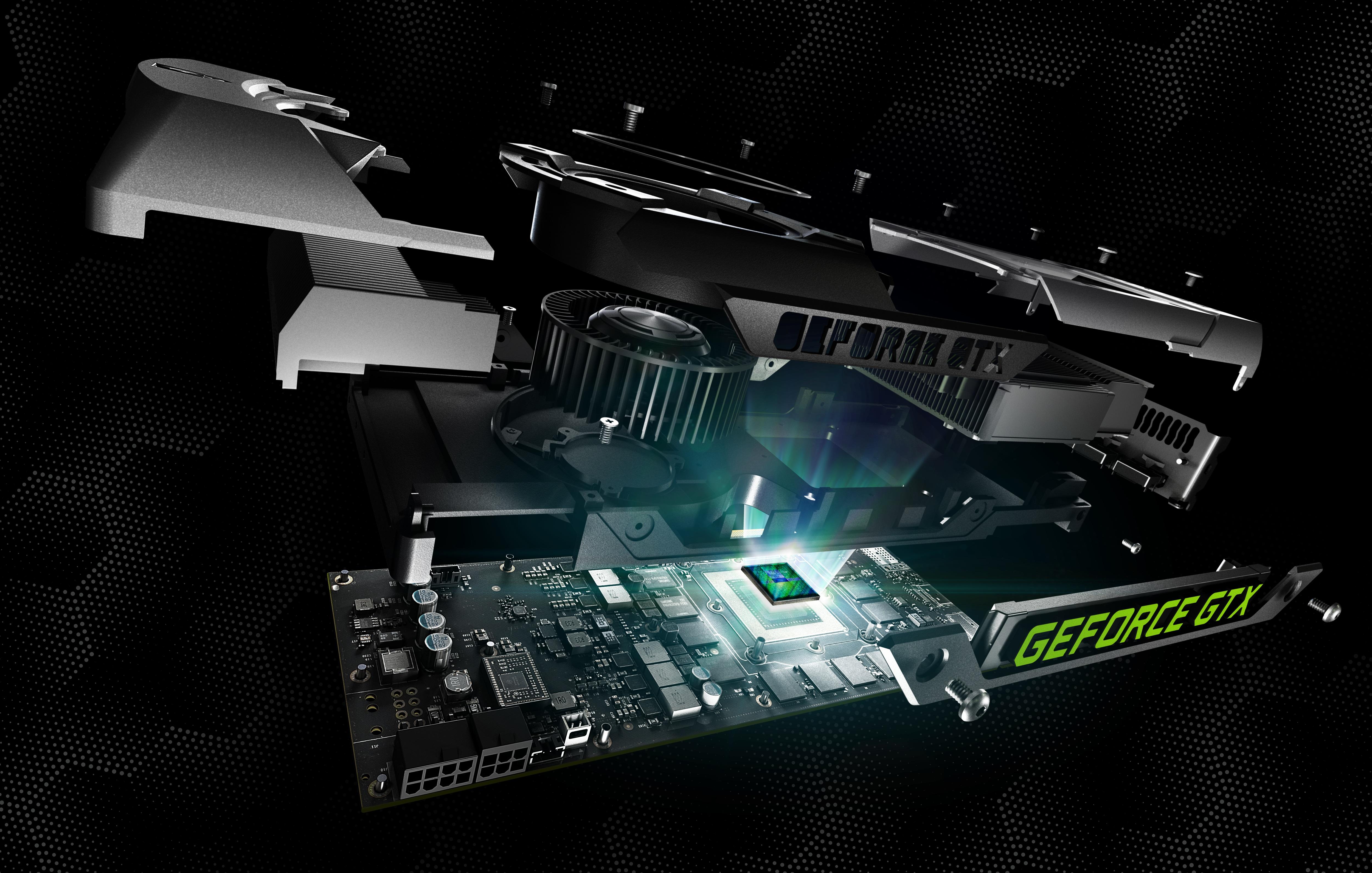 Desamblada Nvidia GeForce GTX