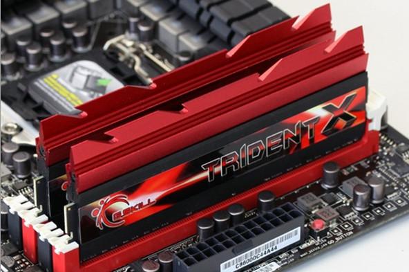 Última hora: Memoria RAM a precio de oro G.Skill-TridentX