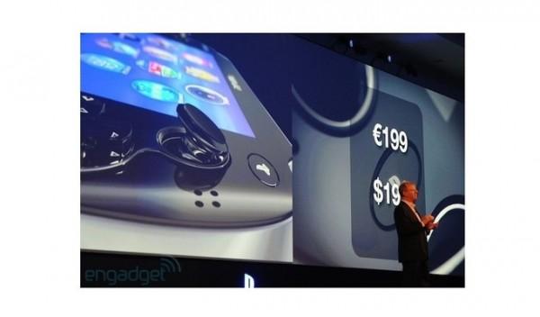 Sony PlayStation Vita 199 euros