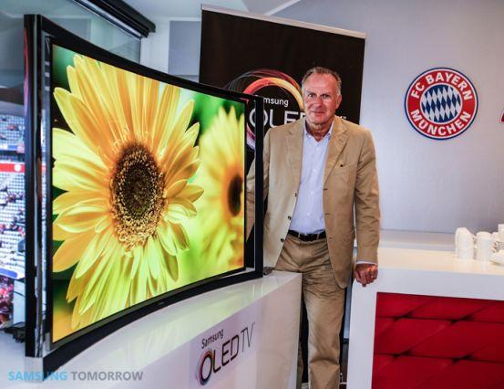Samsung anuncia su TV OLED curvada por 7999 euros
