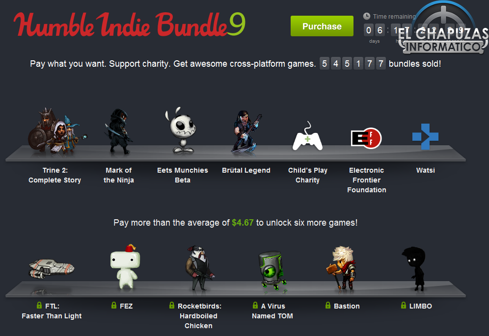 Humble Indie Bundle 9 desbloquea 4 nuevos juegos