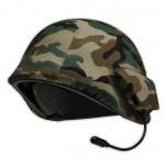 ComRad: Auriculares inalámbricos en forma de casco militar