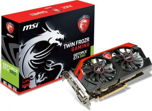 MSI GeForce GTX 660 Gaming Lite Edition