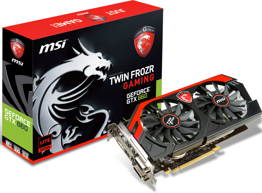 MSI GeForce GTX 660 Gaming Lite Edition