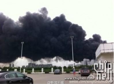 Las instalaciones de SK Hynix son devoradas por el fuego
