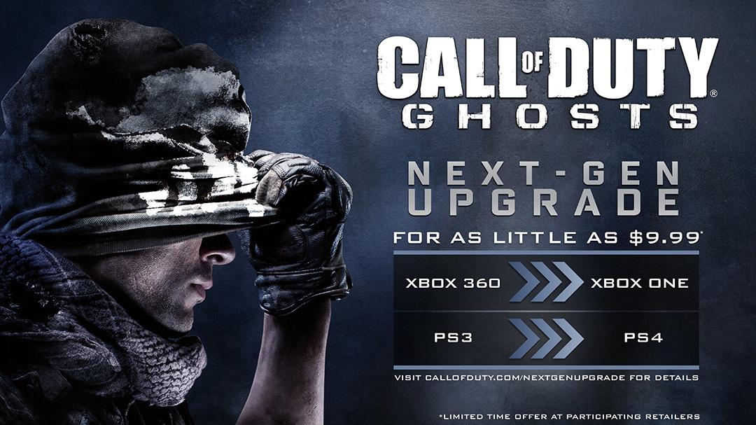 Call of Duty: Ghost dará el salto a la próxima generación por 10 euros
