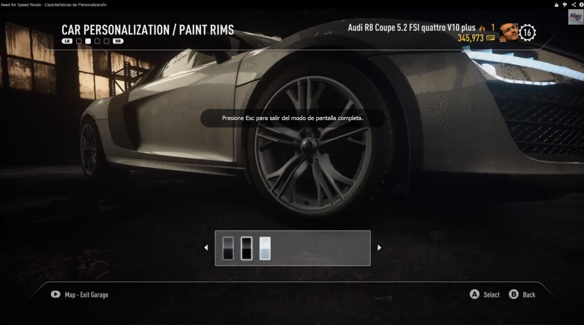 Need for Speed Rivals permitirá personalización online