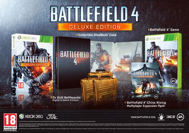 Battlefield 4 ocupará 14 GB de espacio en la Xbox 360