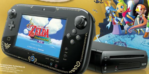 Nintendo Wii U con Zelda Wind Waker HD