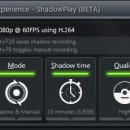 Nvidia GeForce Experience ShadowPlay filtrado