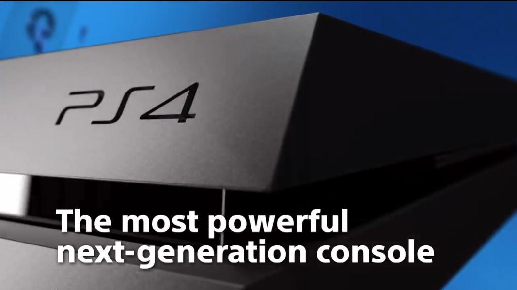 PlayStation 4 Spot