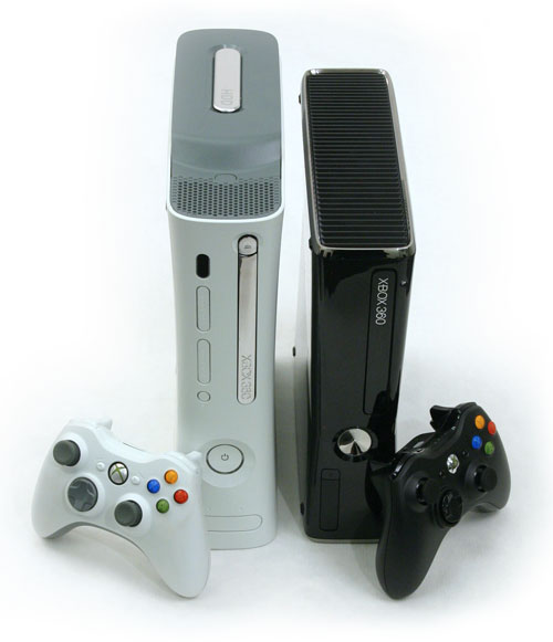 Xbox 360 vs Xbox 360 Slim