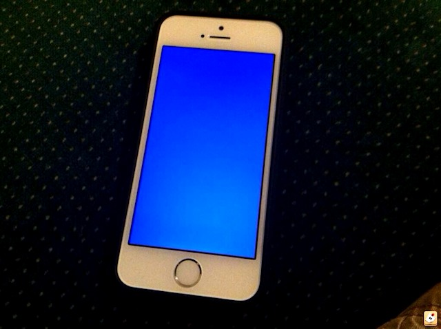 how to solve blue screen of death iphone 5s
