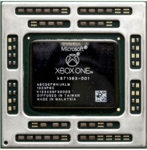 APU AMD de la Xbox One