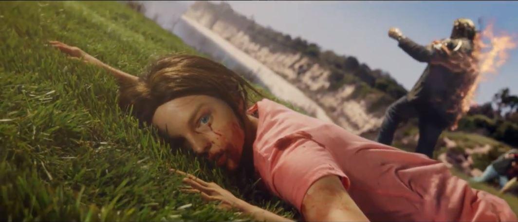 Actores reales recrean el premiado tráiler de Dead Island