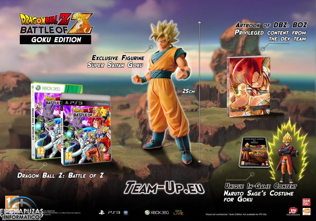 Dragon Ball Z: Battle of Z aterrizará en España el 24 de Enero