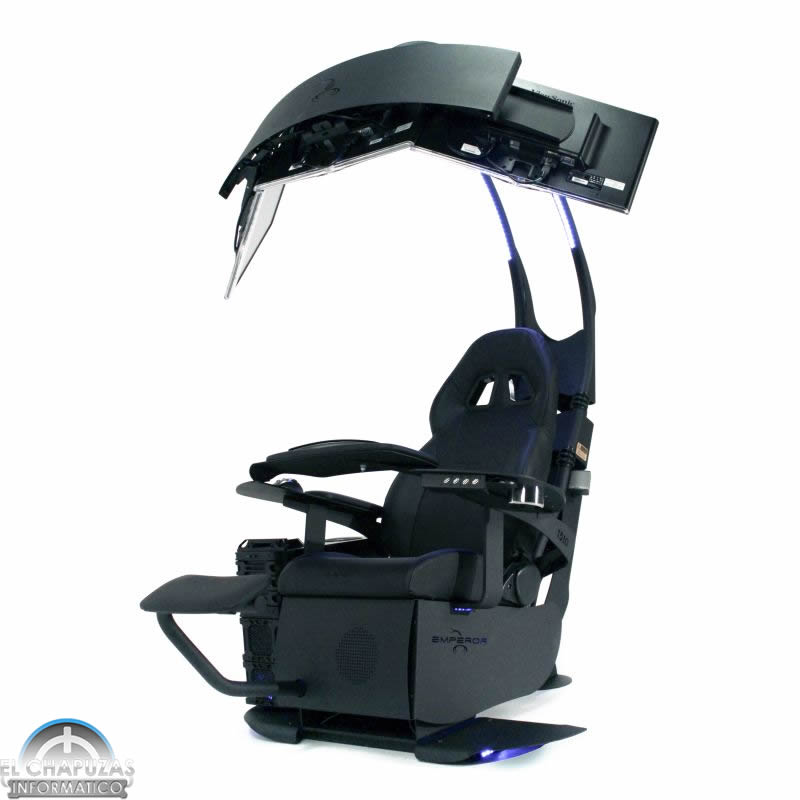 Emperor chair 1510 la silla definitiva gamer ya for Silla gaming con altavoces
