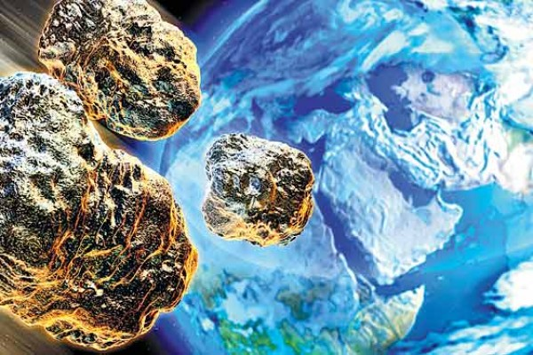 Sin impactos de meteoritos la vida en la Tierra no hubiera existido