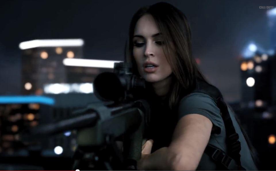 Call of Duty: Ghosts con una atractiva Megan Fox de reclamo