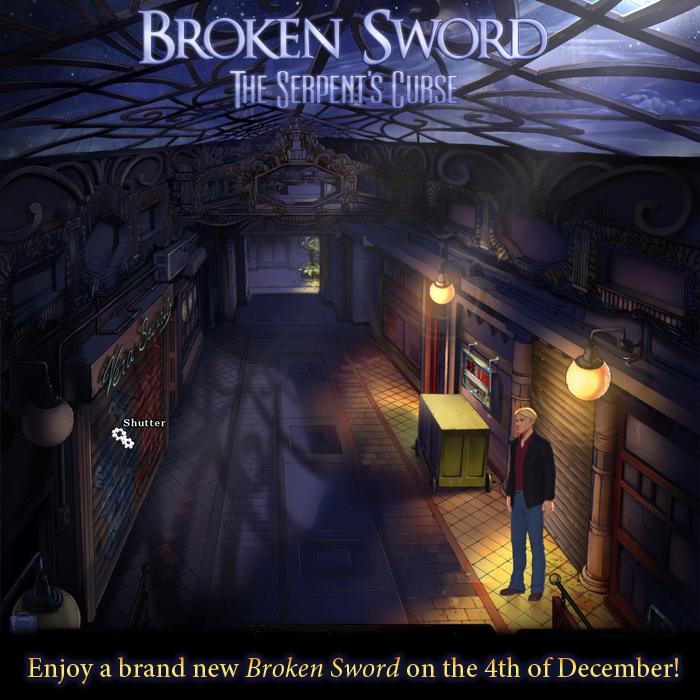 Broken Sword 5 será lanzado el próximo 4 de Diciembre