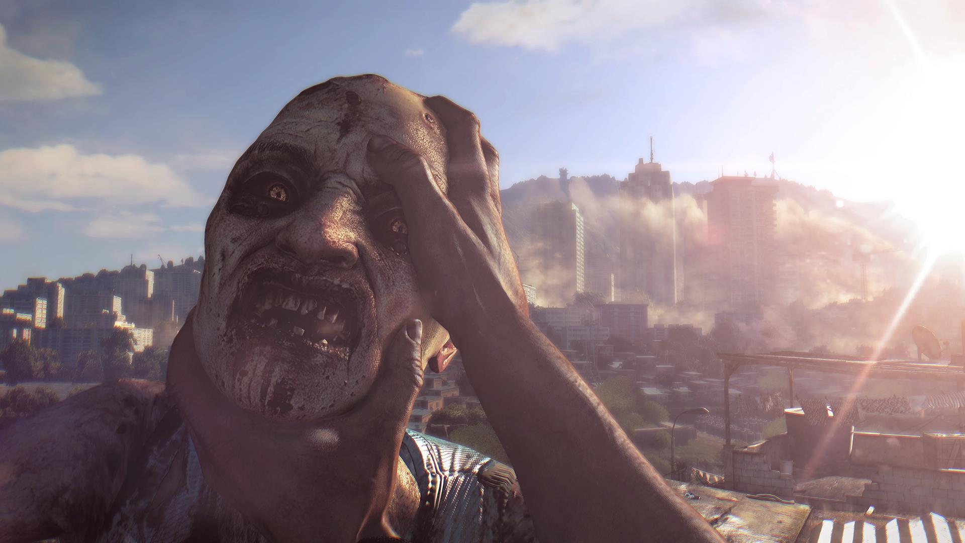 Gameplay repleto de zombies en Dying Light