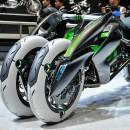 Kawasaki desarrolla una moto transformable