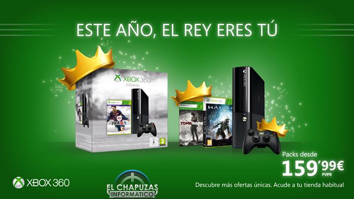 Oferta de Navidad Xbox 360