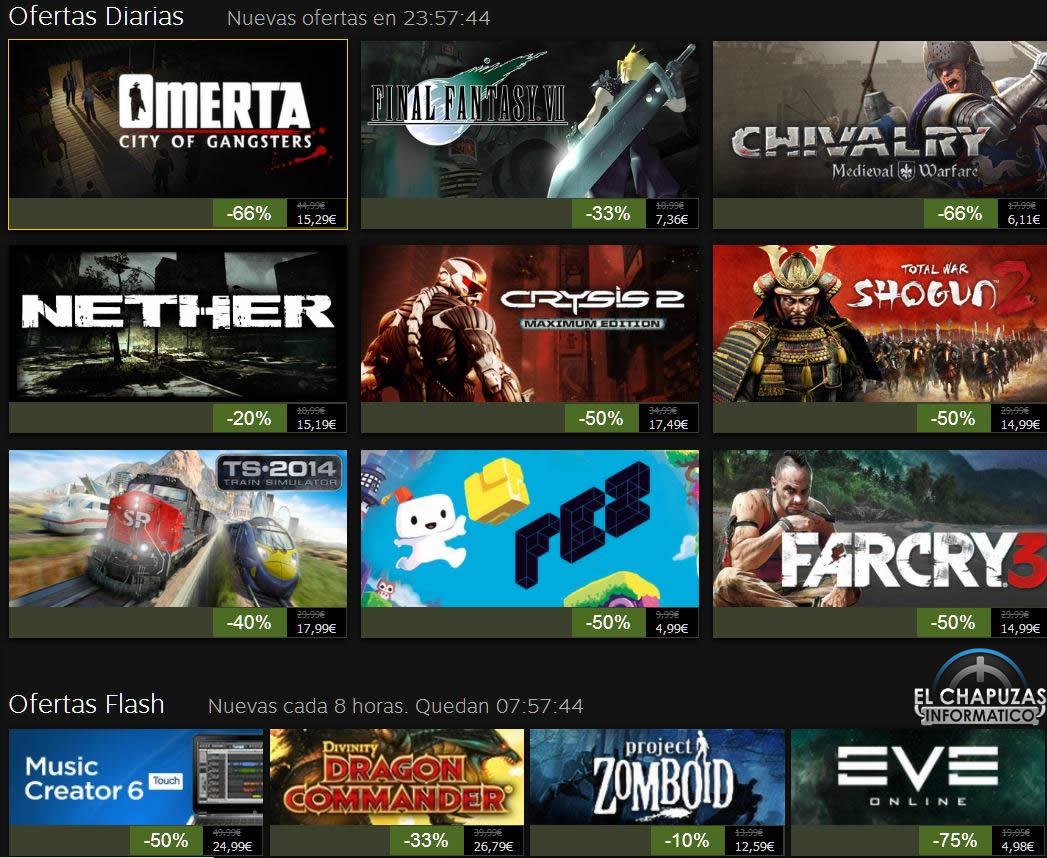 Rebajas Navideñas de Steam 2013: Día 2