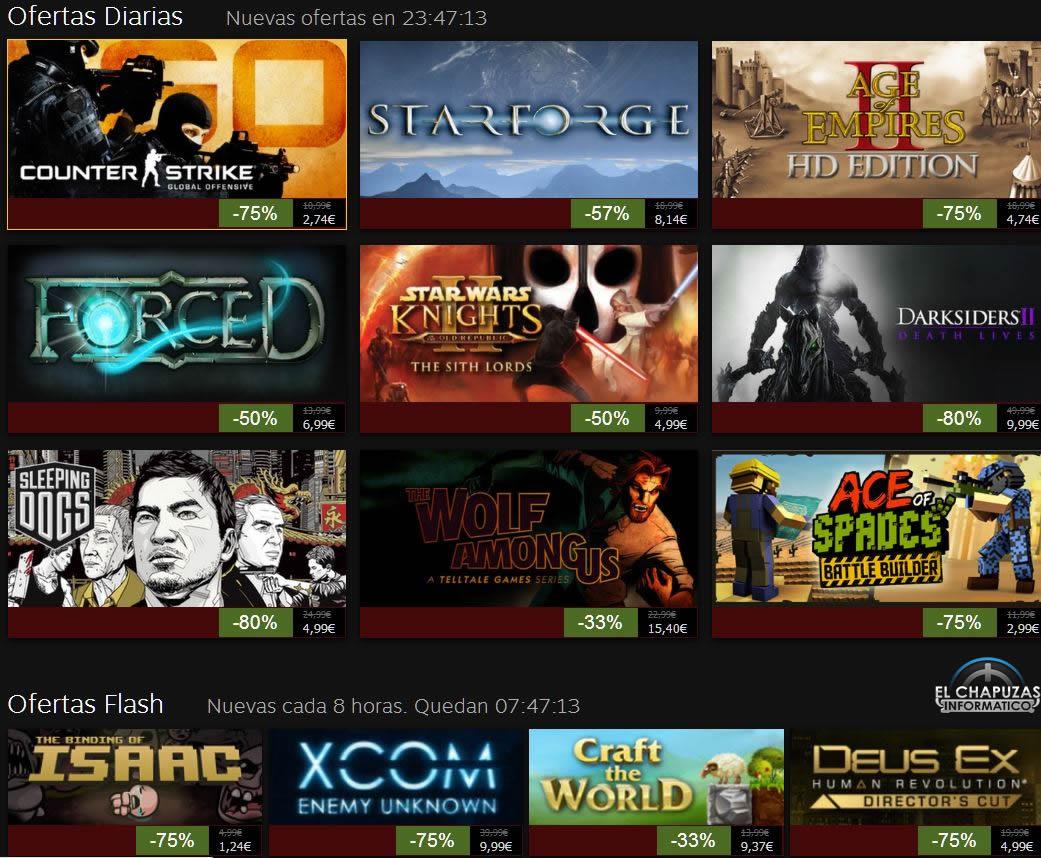 Rebajas Navideñas de Steam 2013: Día 3