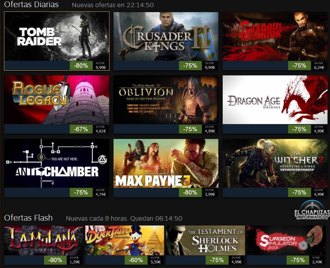 Rebajas Navideñas de Steam 2013: Día 4