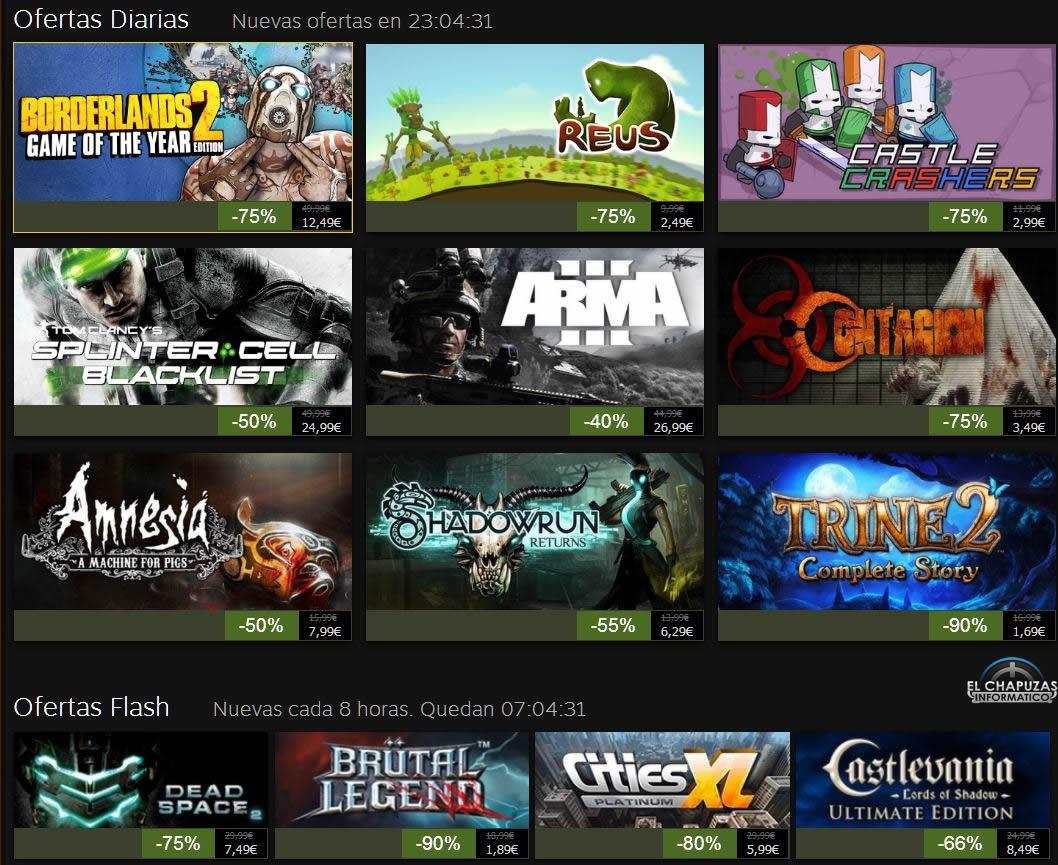 Rebajas Navideñas de Steam 2013: Día 5