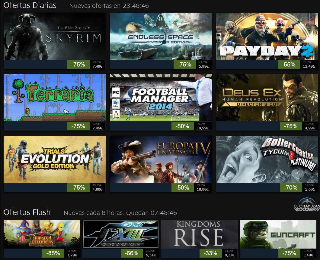 Rebajas Navideñas de Steam 2013: Día 7