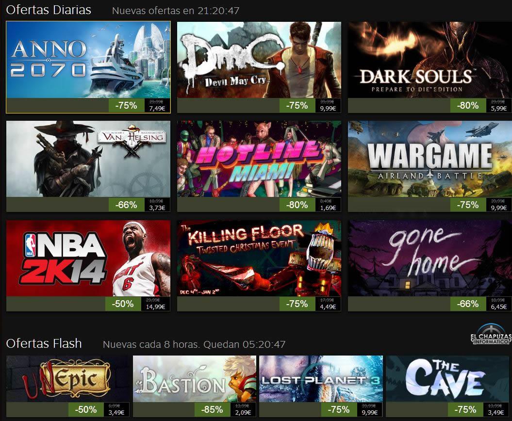 Rebajas Navideñas de Steam 2013: Día 8