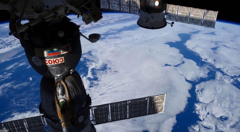 Time Lapse de la Tierra desde la Estación Espacial Internacional a 4K