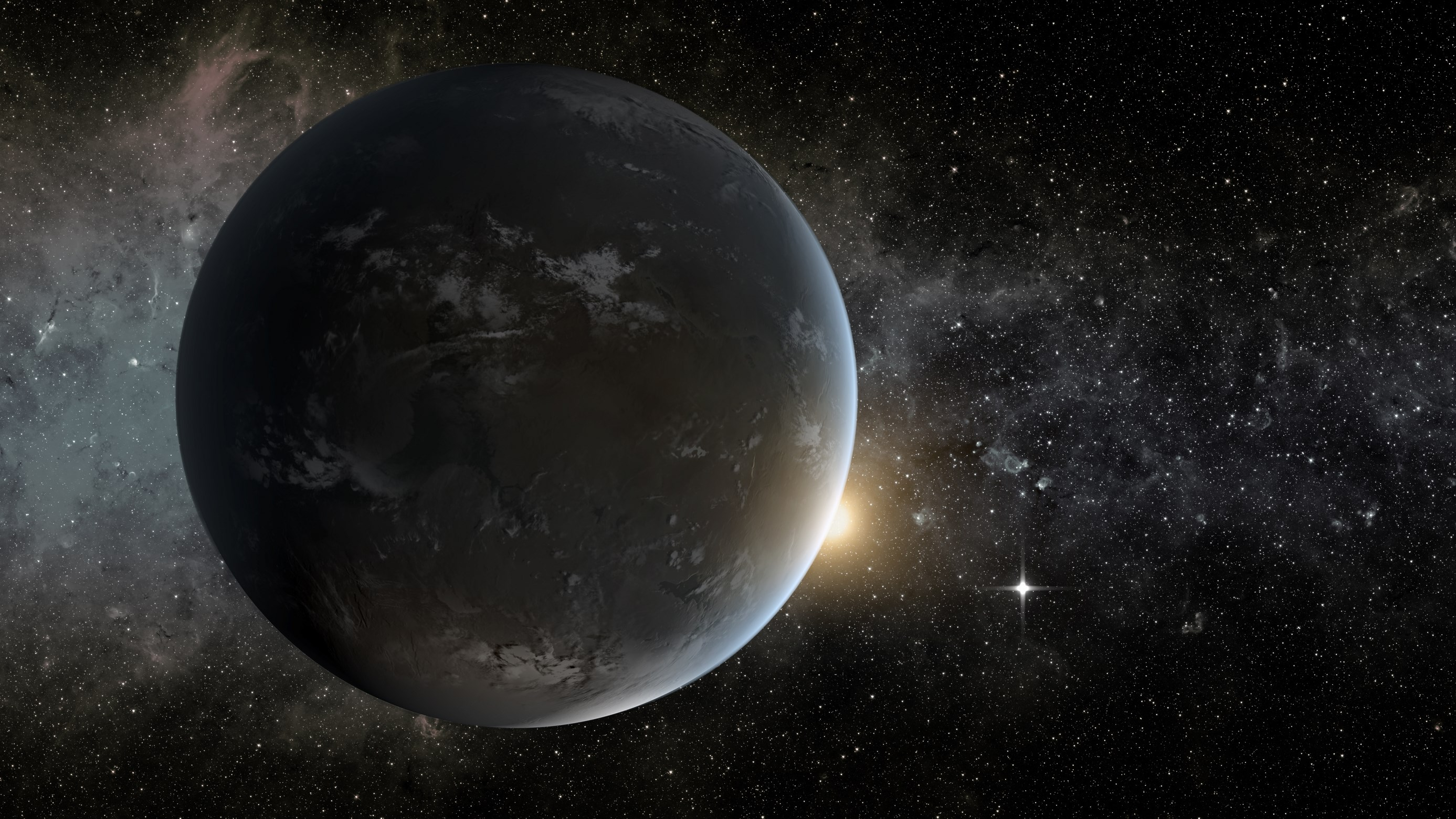 Kepler-62f: Planeta muy similar a la Tierra a 1.200 años luz